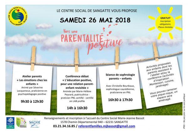 Journée de la parentalité positive @ Centre Social de Sangatte | Sangatte | Hauts-de-France | France