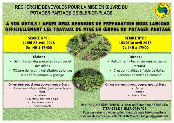 Atelier création jardin potager @ Annexe l'Eldor'ados  | Sangatte | Hauts-de-France | France